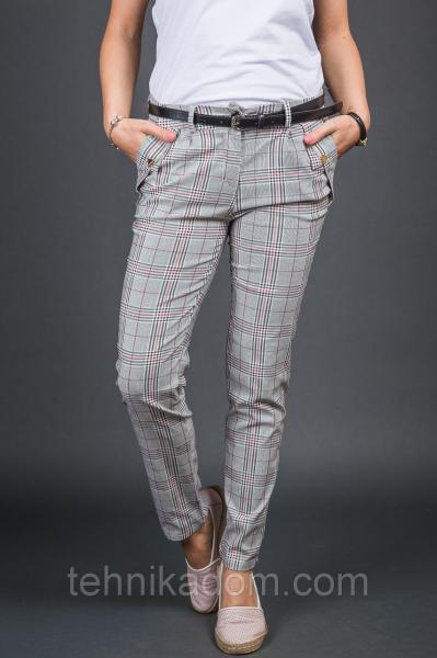 NEW COLLECTION Штаны - белый с красным цвет, XL