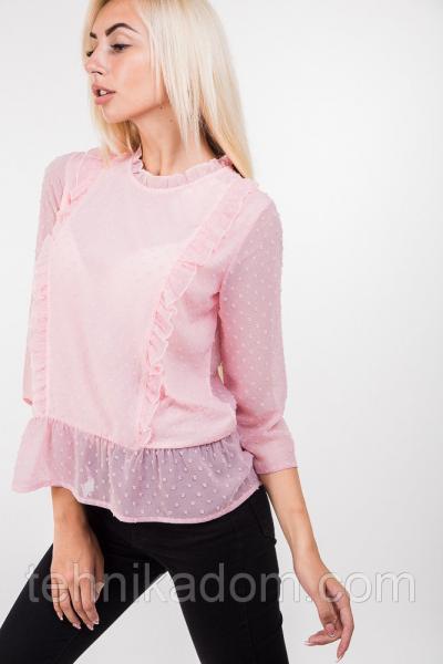 Блуза 44370 (розовый)