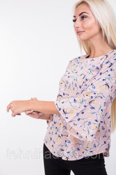 Блуза 1488 (грязно-розовый)