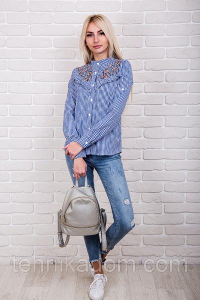 Рубашка 60540 (синий)
