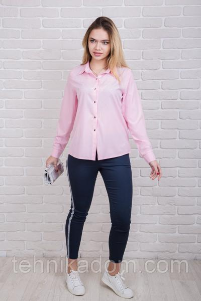 Рубашка 60220 (розовый)