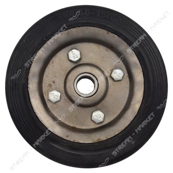 Колесо для тележки 180/50-100 ось 20мм (2 подшипника)