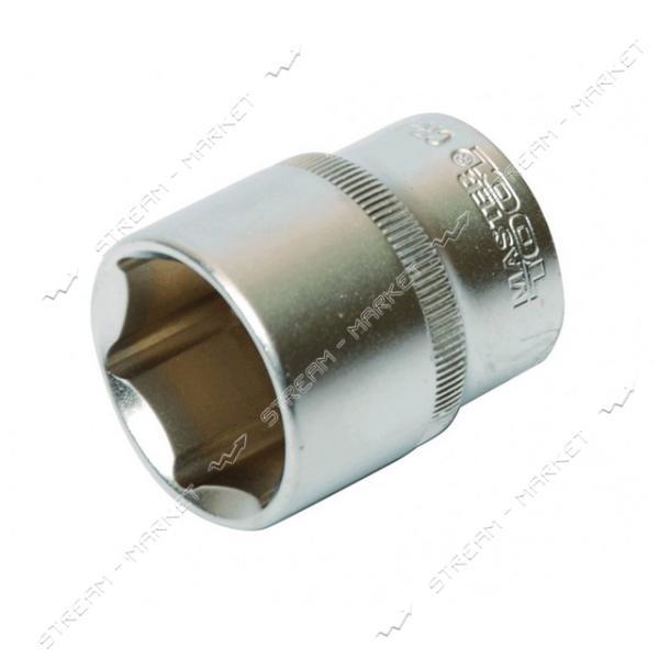 Насадка торцевая MASTERTOOL 78-0015 6-гранная CrV 1/2 15мм