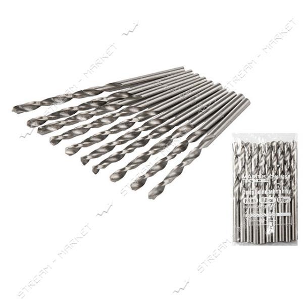 Сверло по металлу MASTERTOOL 10-1032 белое P6M5 3.2мм