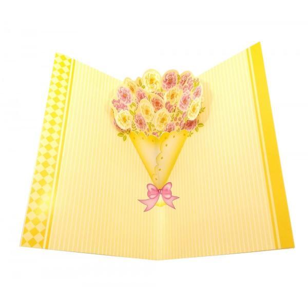 """Открытка с конвертом """"I Love You!"""" (19х13 см) ( 32181)"""