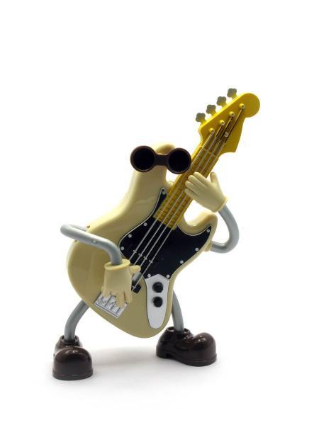 Игрушка музыкальная гитара (заводится ключом,при игре танцует) (18х13х6 см)
