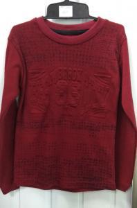 Фото Кофты, толстовки, рубашки, свитера Кофта мальчику, тесненная надпись 9-12 лет