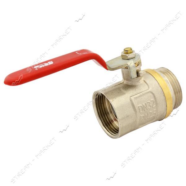 STA Кран 1 1/4' (В/Н, ручка, вода) (железный шар)