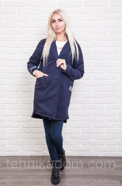 Пальто 42400 (т.синий)