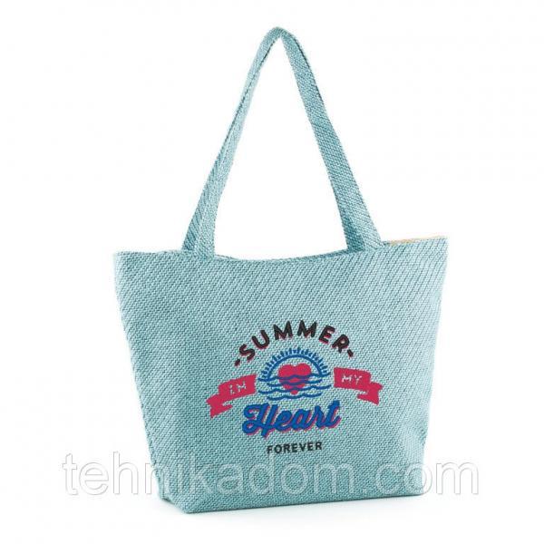 "Сумка для отдыха рогожка ""Summer in my heart"""