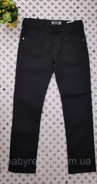 Детский стильные штаны в школу для мальчика  теплые 10-13 10