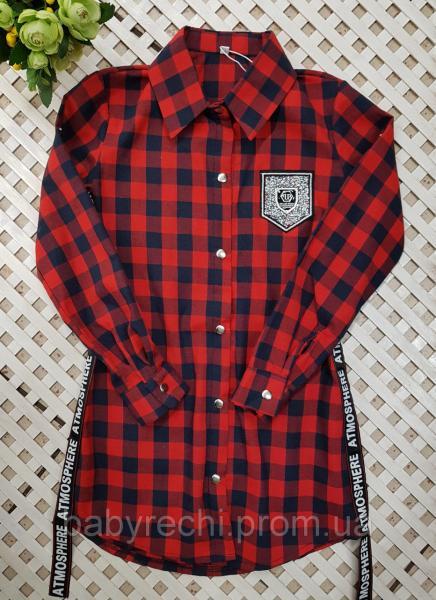 Детская и подростковая рубашка на девочку 146-164 14