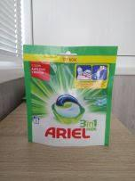 Капсула для стирки белого белья ARIEL, 1 штука в упаковке.