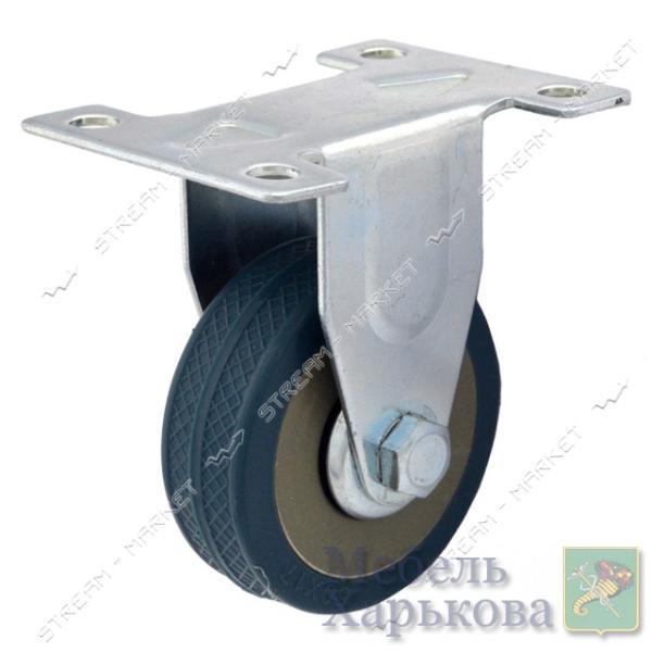 Ролик мебельный Резиновый плоский d65 мм направленный - Мебельные ролики и колеса в Харькове