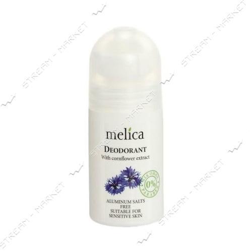 Дезодорант с экстрактом василька Melica Organic 50 мл