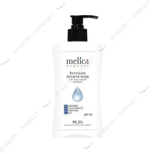 Средство для интимной гигиены с молочной кислотой и пантенолом Melica Organic 300 мл