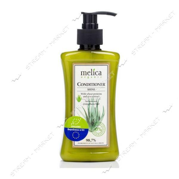 Кондиционер с протеинами пшеницы и экстрактом алое Melica Organic 300 мл