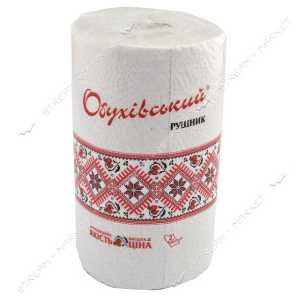 Бумажные полотенца Обухов 2 слоя 36 отрывов 1шт