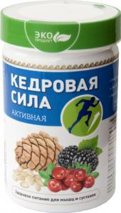 Фото ПРАВИЛЬНОЕ ПИТАНИЕ Продукт белково-витаминный «Кедровая сила - Активная»