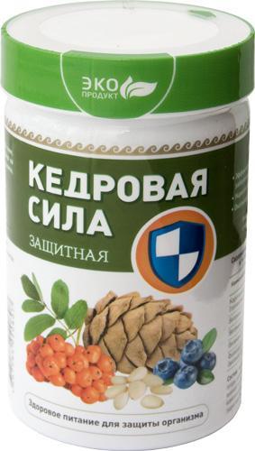 Продукт белково-витаминный «Кедровая сила - Защитная»