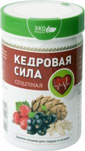 Фото ПРАВИЛЬНОЕ ПИТАНИЕ Продукт белково-витаминный «Кедровая сила - Сердечная»