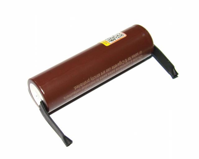 Аккумулятор LG HG2 18650 3000 mAh ток 30A