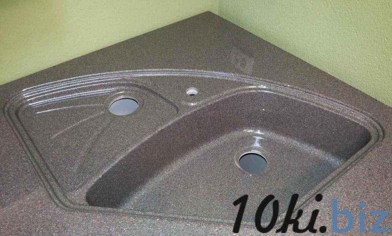 Столешница с мойкой из искусственного камня на заказ в Гродно  купить в Лиде - Столешницы и комплектующие