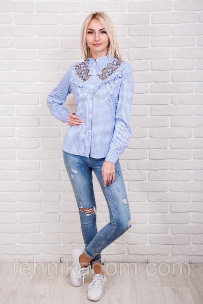 Рубашка 60540 (голубой)