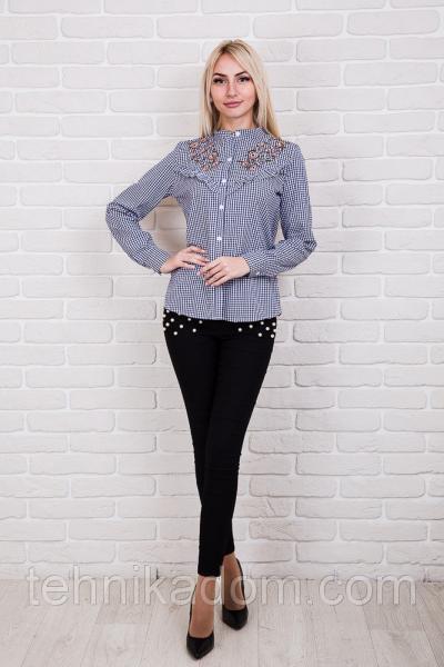Рубашка 60540 (т.синий)