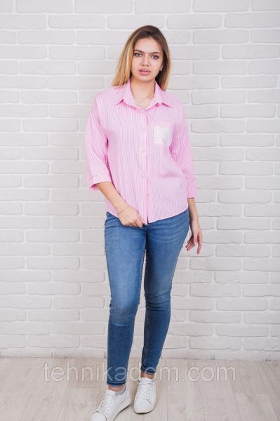 Рубашка 61340 (розовый)