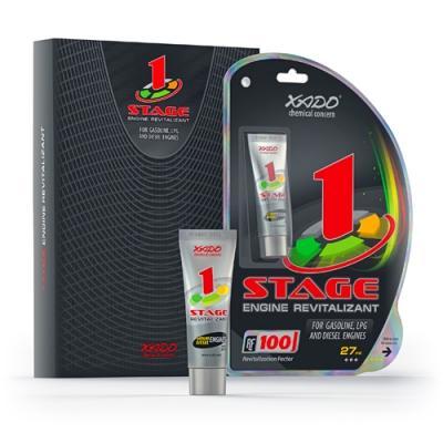 Ревитализант XADO 1Stage для защиты и ремонта всех видов двигателей (27 ml).