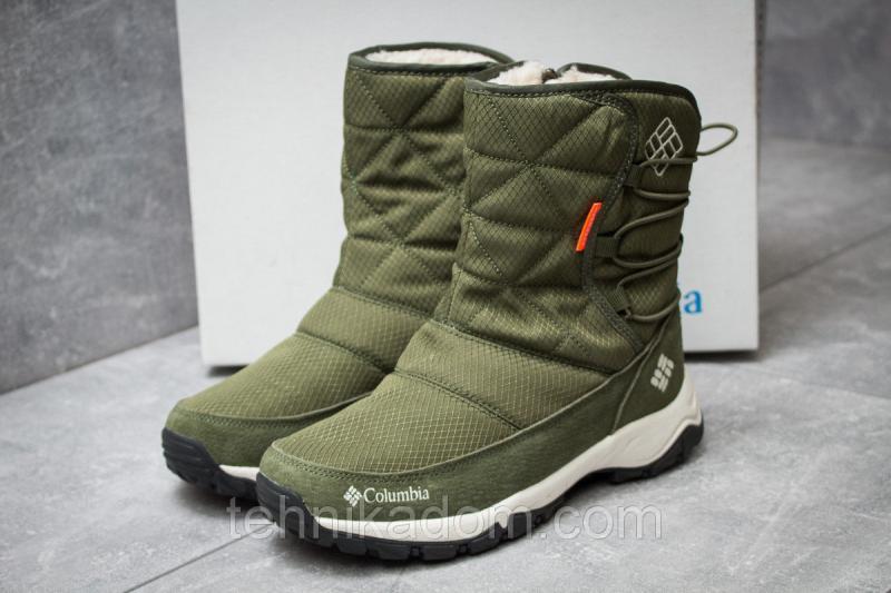 Зимние ботинки Columbia Keep warm, хаки (30284),  [  38 (последняя пара)  ]