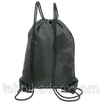 Рюкзак-котомка для обуви Wallaby 35х43х1 Черный (в 28251ч)