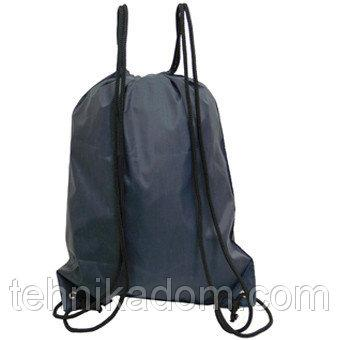Рюкзак-котомка для обуви Wallaby 35х43х1 Синий (в 28252син)