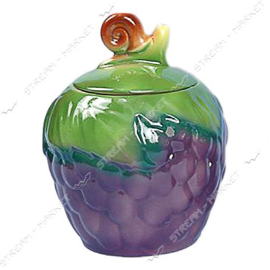 Сахарница керамическая Виноград 0.99 л