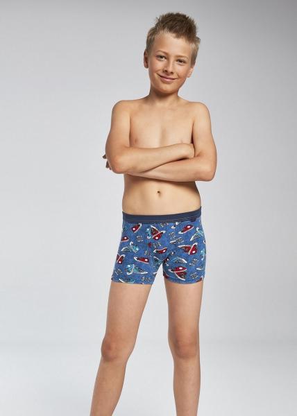 Детские трусы для мальчиков SZORTY CORNETTE KD-701/63_conf Трусики шорты боксеры Детское нижнее белье Польша