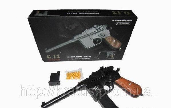 Пистолет металлический G.12  Маузер
