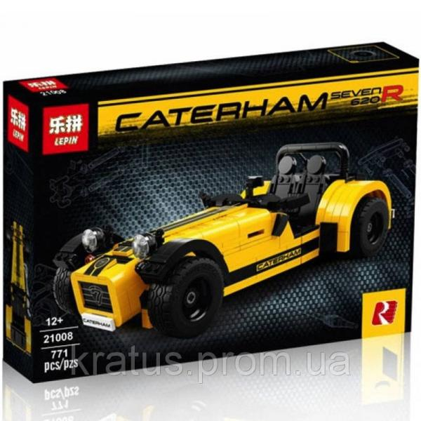"21008 Конструктор Lepin ""Катерхем 7 620R V2"" (аналог Lego Ideas 21307), 771 дет"
