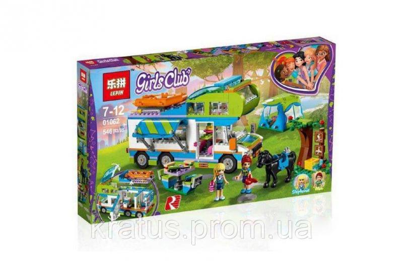 "01062 Конструктор Friends Lepin ""Дом на колёсах"" (аналог Lego 41339), 546 дет"