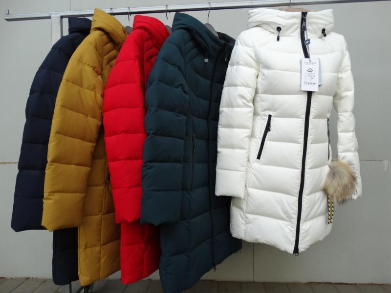 Куртка женская зимняя MEAJIATEER М18-76 Горчица, XL