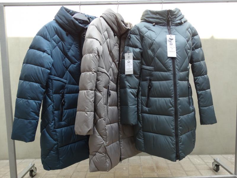Куртка зимняя женская MEAJIATEER M18-132 Малахит, 2XL