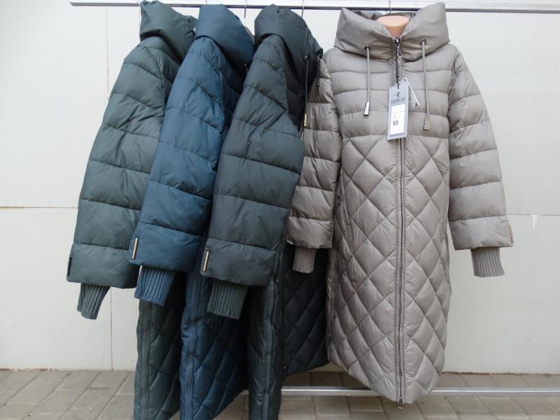 Зимний пуховик больших размеров  Peercat 18-738 Бежевый, XL
