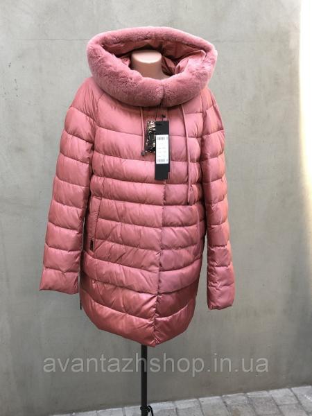Женская зимняя куртка с мехом TONGOI 18D27