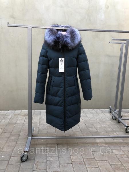Куртка зимняя с мехом чернобурки Meajiteer M18-139