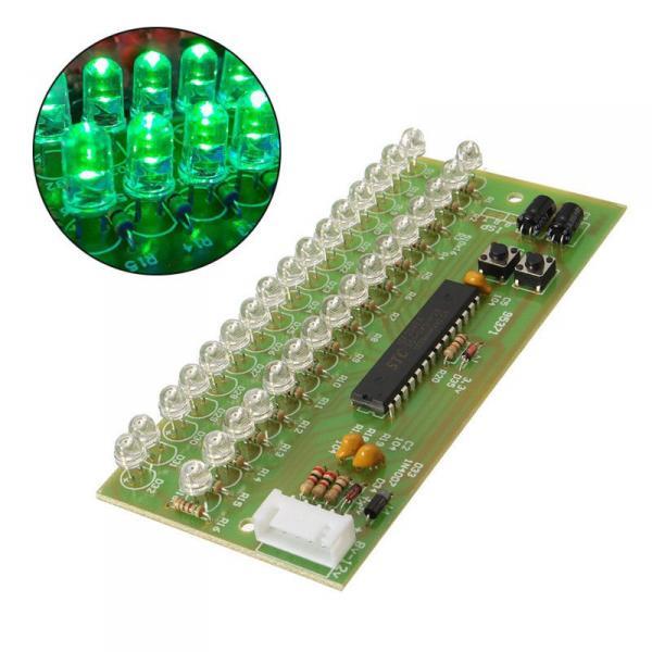 16-ти светодиодный индикатор для усилителя зеленые светодиоды стерео