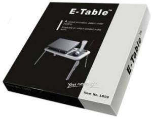 Фото  Столик для ноутбука E-table LD09