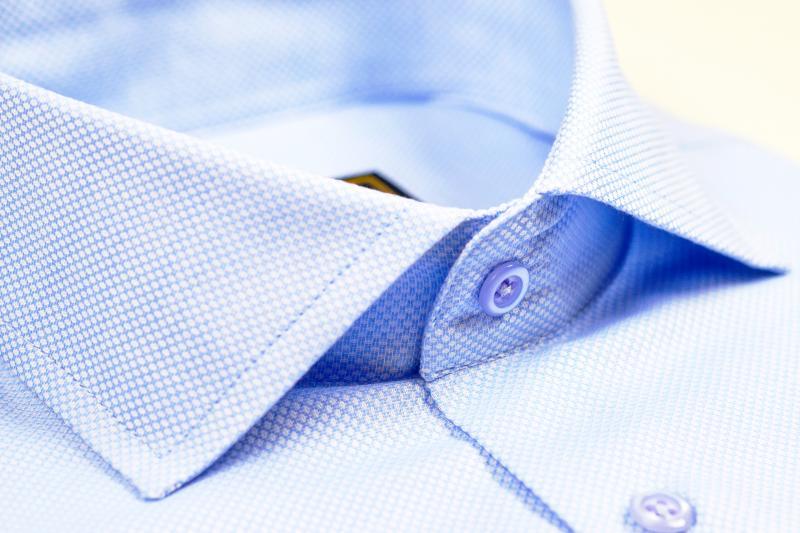 Фото Мужские рубашки Рубашка мужская Michael Schaft Голубая
