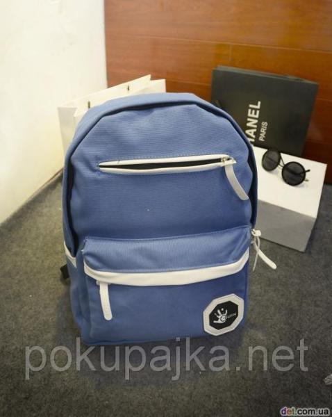 Школьный городской рюкзак Eurn Ладонь (цвет синий уникальный ) Один в Украине