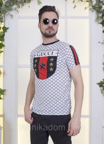 Качественная футболка мужская с принтом