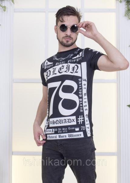 Стильная мужская футболка с принтом